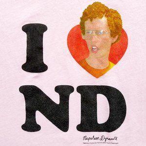 NWOT HEART Love NAPOLEON DYNAMITE Graphic T-shirt